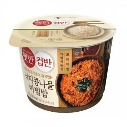 5125 CJ 햇반컵반 낙지 콩나물비빔밥 (3월 1일부터 주무 가능합니다)