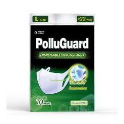 Pollu Guard Mask L (성인 남자용)   1 Pack(마스크 10개입)