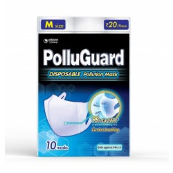 Pollu Guard Mask M (성인 여자용)   1 pack(마스크 10개입)
